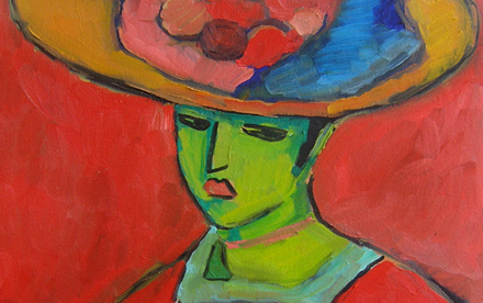 Jawlensky oil painting
