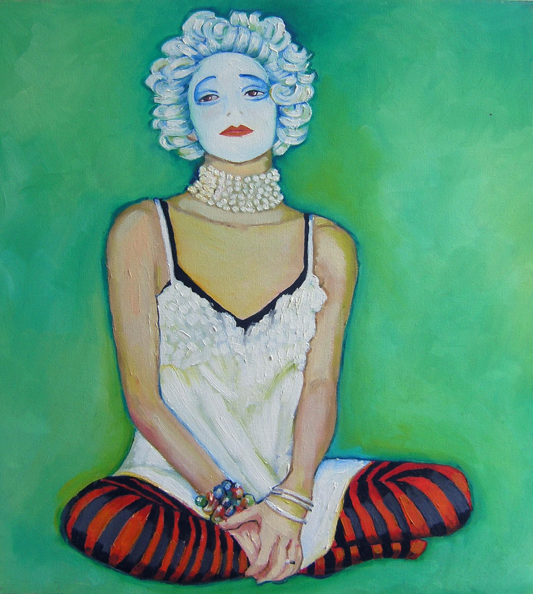 Marcela - Oil on Canvas